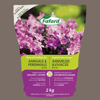 Engrais naturel annuelles/vivaces 6-3-6 2kg