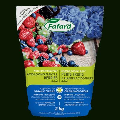 Engrais petits fruits et plantes acidophiles 2kg
