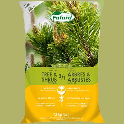 Terreau 3/1 arbres/arbustes 30L