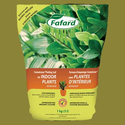 Terreau empotage plantes intérieur 5L