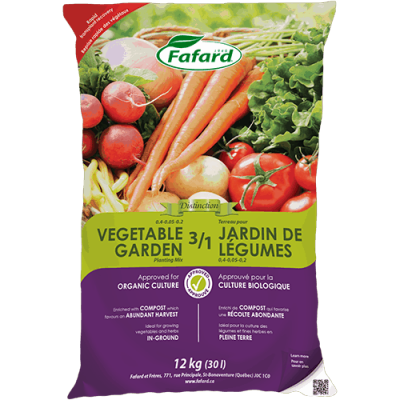 Terreau 3/1 jardin/légumes 30L
